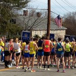 Start of the Boston Marathon 2013