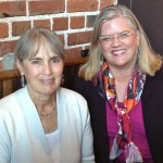 Deborah Madison and Kathryn Pritchett at Camino Restaurant, Oakland 4/18/13