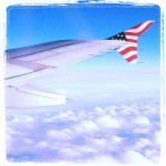 Virgin America Plane Wing Tip