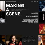 Making A Scene - New York TImes Magazine