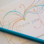 Thank You card by Papyrus