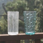Plastic Tumblers from Pottery Barn (left) and Williams-Sonoma (right)