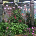 Keeyla Meadow's Garden - Light Goddess Mural