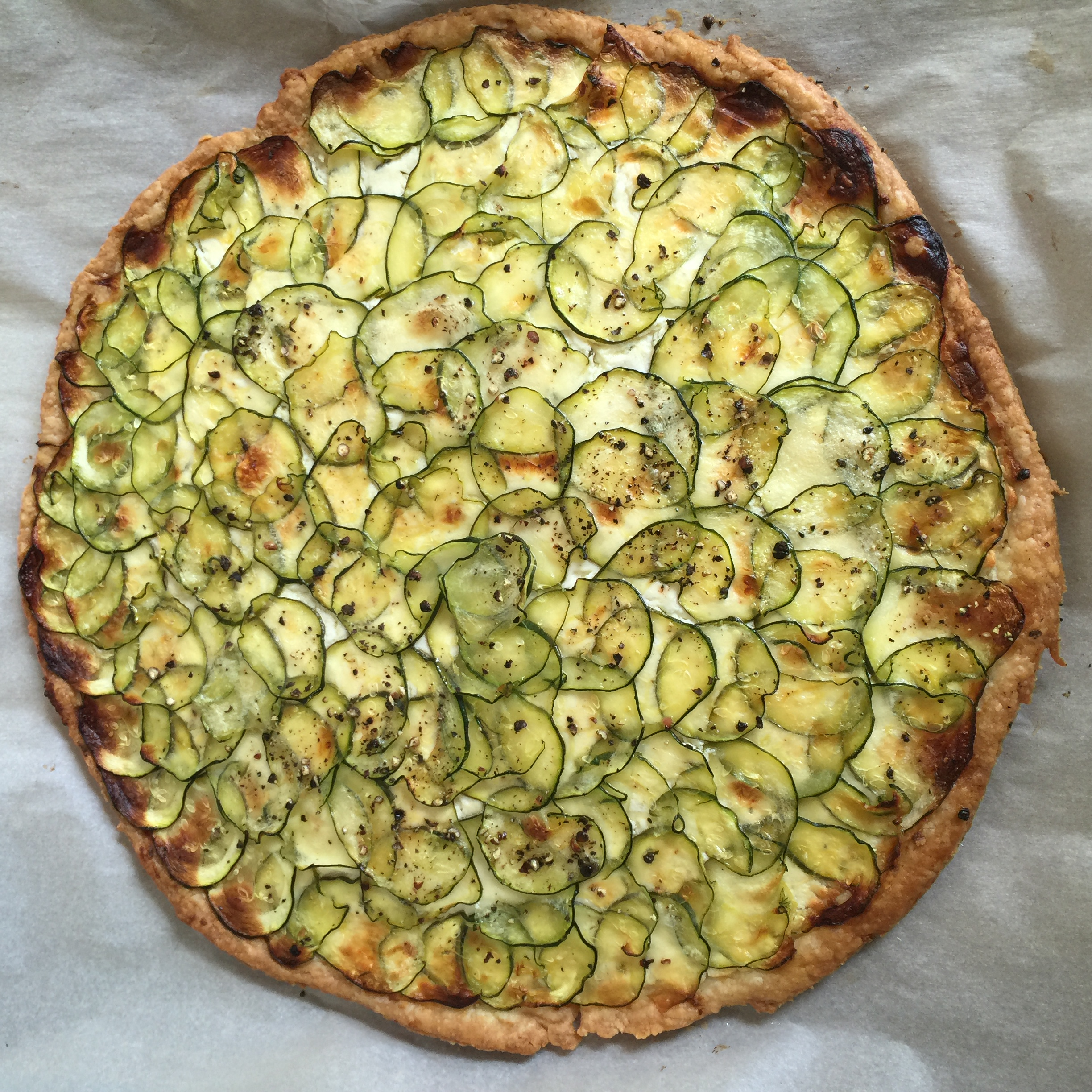 A bridal shower using mostly barefoot contessa recipes Ina garten goat cheese tart